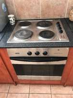 Defy hob, extractor fan and oven. Very good condition