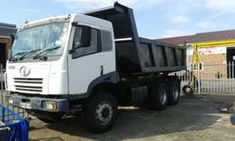 2008 faw 10cube tipper forsale