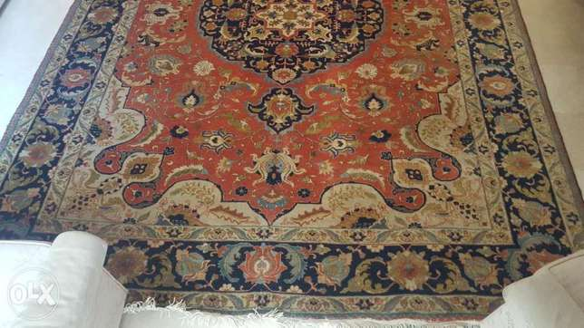 Fine antique Persian Tabriz Heriz carpet