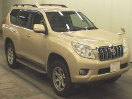 Toyota Land Cruiser Prado 2010 Foreign Used For Sale 5,000,000/=