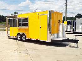 Mobile catering concession unit.