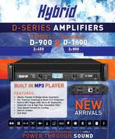 Hybrid Amp D1600 at Audio Corner