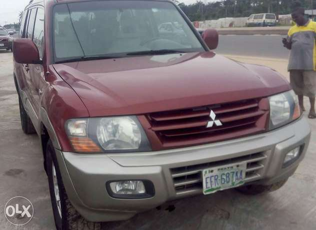 Neat 2002 Mitsubishi Montero For Giveaway Port Harcourt - image 1