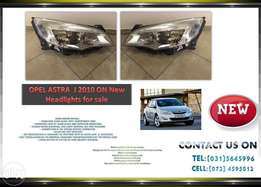 Opel Astra J 2010 ON New Headlights for sale Price:R1695 each