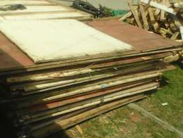 Shutter and plywood boards for sale