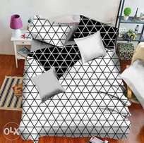 Duvet, duvet covers ,pillow and bed sheets are available a