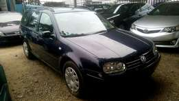 2002 Volkswagen Golf 4 estate