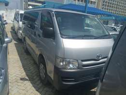 Toyota hiace at 2.38m