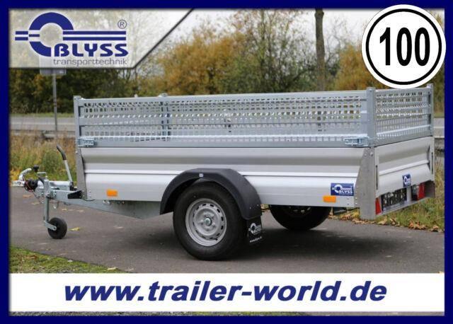 Blyss PKW Anhänger 310x155x73cm 1300kg GG VOLLALU!
