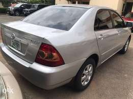Very clean and super neat 2006 Toyota Corolla Bank Type