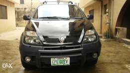 Clean Renault Scenic RX4 2006 Black