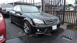 Fast Driving 2010 Merc-Benz C63 AMG With Auto Navigation Rev Camera.