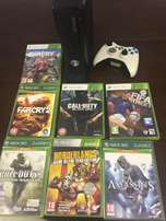 Xbox 360 console for sale with games