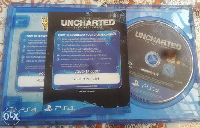 Uncharted 5 Lost Legacy (buy, finish & sell or keep + delivery) Nairobi CBD - image 1