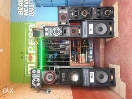 "Church complete PA system 2, 15"" spk : 30k, 32""Tv : 19k, woofers etc ."