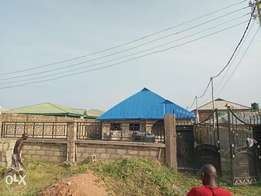 uncompleted three bedrooms flat for sale at agunbelewo osogbo