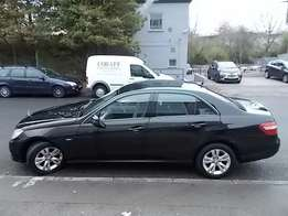 Mercedes E220, CDI diesel, immaculate condition, KCK