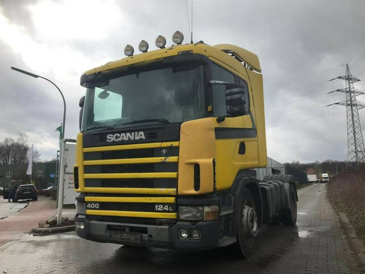 Scania 124-400, Manual Gearbox, HYDRAULIK, Euro 2 - 1998