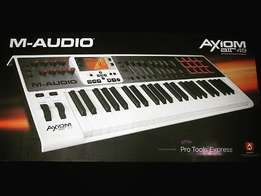 M Audio Axiom Air49 Midi Controller and pad Comes with Free i-Lock.