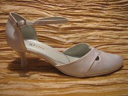 20e544e8 tanio nowe buty ślubne z satyny rozmiar 39