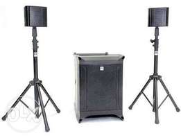 Portable professional sound system