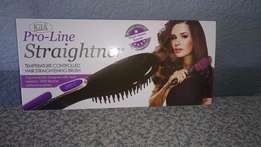 Pro-Line Ceramic Hair Straightener Brush