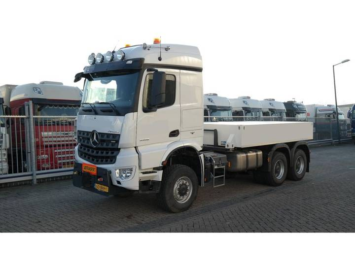 Mercedes-Benz AROCS 3352 180 tons push and pull HEAVY DUTY 6X6 EURO 6 9... - 2016 - image 10