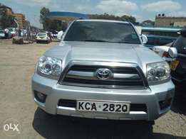 Toyota Surf double cab clean fully loaded silver 2007 model