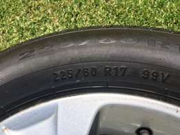BMW X3 Mags and Tyres for sale