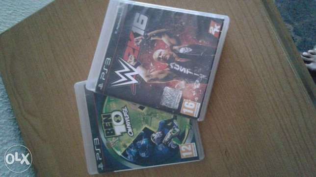 Ben 10 & WWE 16 for ps3 Wuse - image 1