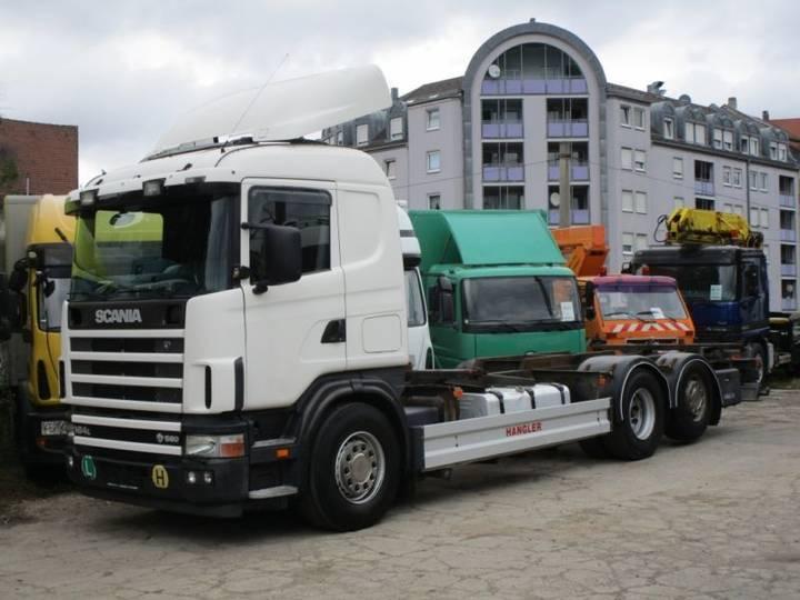 Scania R164 LB 580 V8 Klima Retarder 715/745 BDF AHK - 2004