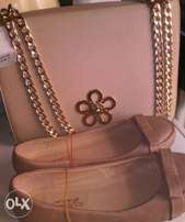 Sales in stocks clutch hand bag purse with shoes