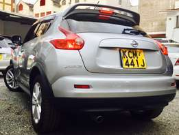 Nissan Juke prime grade fully loaded kcm 2010 model at 1,299,999/=