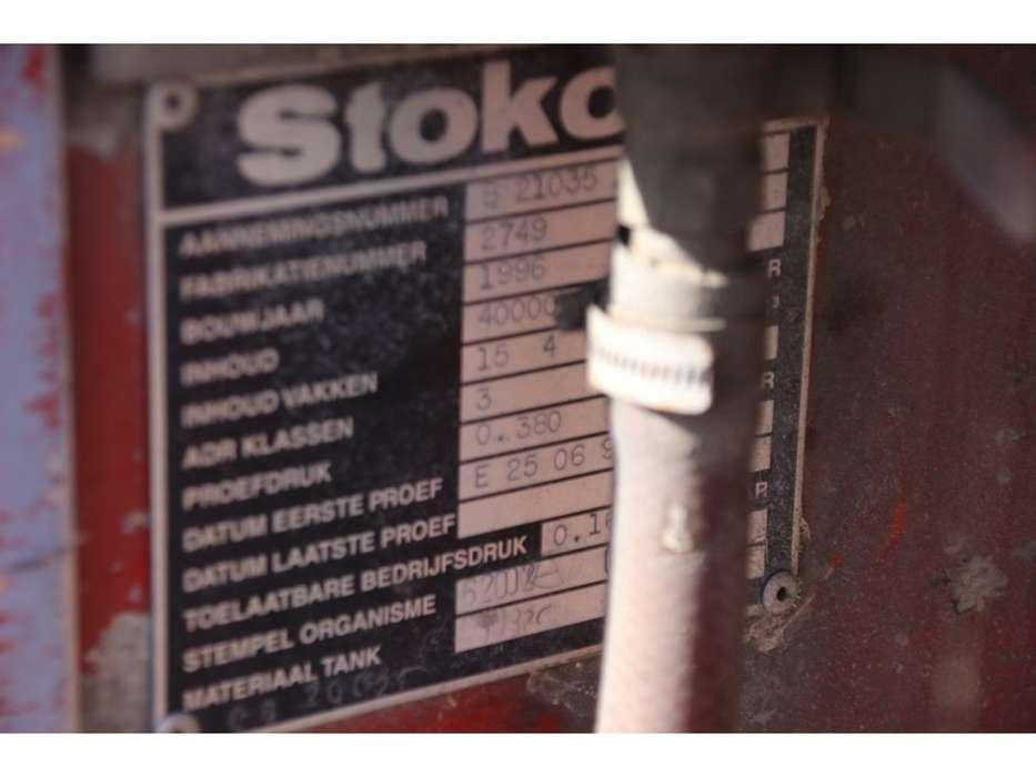 Stokota TANK 40.000 L ( 5 comp. ) DIESEL/FUEL/GASOIL - 1996 - image 7