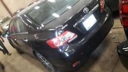 First body clean Toyota Corolla 2012
