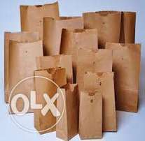 Plain and Branded Packaging Bags at Wholesale