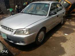 Registered 2002 Hyundai Accent (Auto+4plugs+1.6ltr)