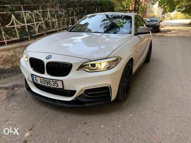 Superb and unique BMW M235i 2014