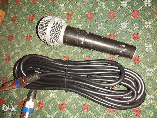 Dynamic mic with cable