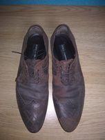 DOLCE   GABBANA Оригинал стильные мужские кожаные туфли брогги 31da3e22f8c4c