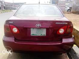 Toyota Corolla,2006 Model
