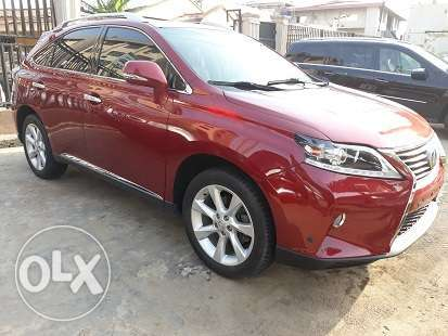 Lexus Rx 350 Wine Colour 2010 Model Cars 1004109113 Olx