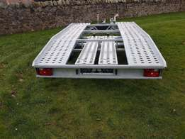 BRAND NEW Car Transporter Trailer Recovery Flat bed 6 and 5meter