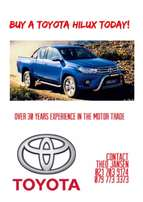 Buy a new hilux today