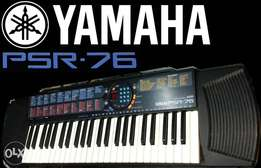 Yamaha Psr 76 portable keyboard