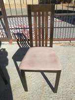 4 chairs for sell in excellent condition