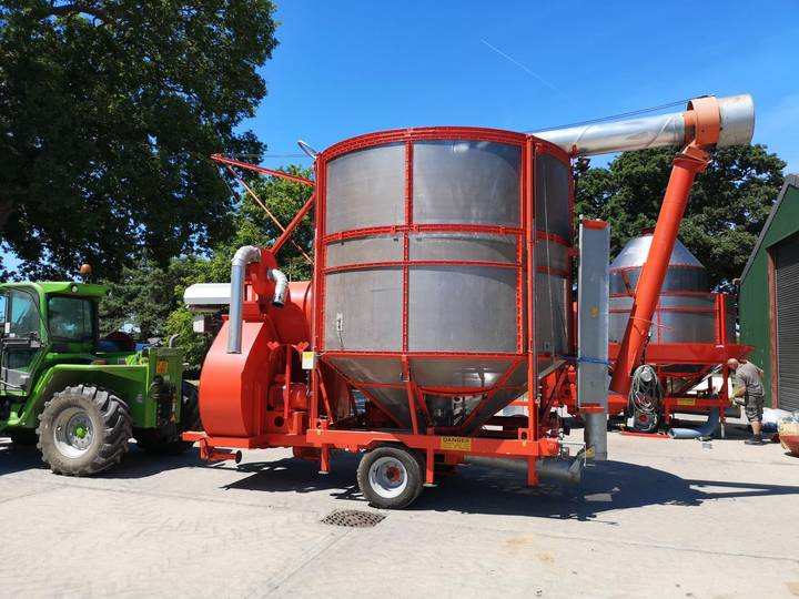 MASTER DRIER 25 TON – FULL ELECTRIC AUTOMATION - 2013
