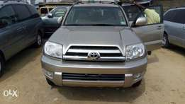A dharp 2005 toyota 4 runner for grab in uyo