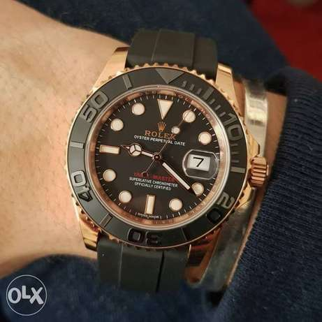 Rolex Yacht Master 1 rubber First Copy