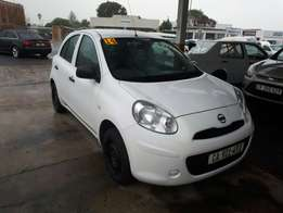 2014 Nissan Micra 1.2 with aircon.